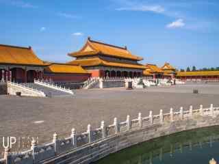 故宫内壮观的宫殿桌面壁纸