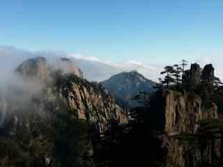 中国最美山峰之壮丽的黄山