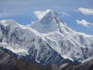 中国最美山峰之贡嘎山桌面壁纸