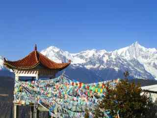 中国最美山峰之梅里雪山风景壁纸