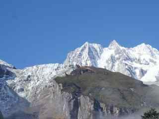 中国最美山峰之贡嘎山风景壁纸