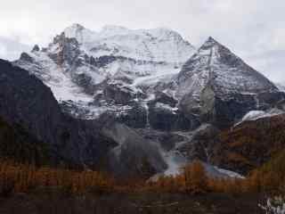 中国最美山峰之三神山壁纸