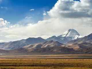 中国最美山峰之冈仁波齐峰风景壁纸