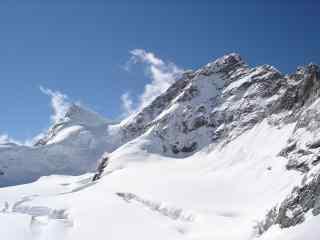 中国最美山峰之珠穆朗玛峰雪景