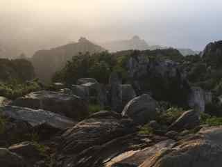 中国最美山峰之唯美的泰山壁纸