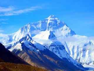 中国最美山峰之珠穆朗玛峰风景壁纸