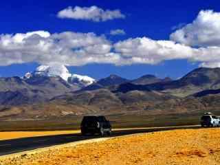 中国最美山峰之冈仁波齐峰唯美壁纸