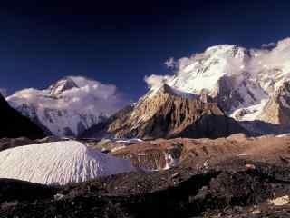 中国最美山峰之乔戈里峰壁纸