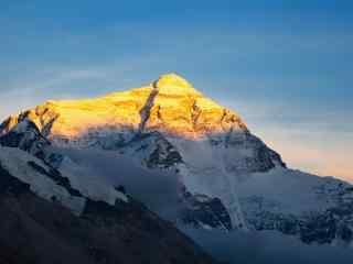 中国最美山峰之珠穆朗玛峰壁纸