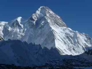 中国最美山峰之乔戈里峰风景图片