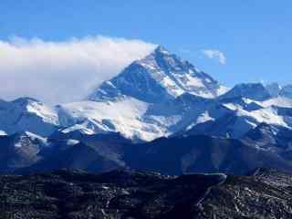 中国最美山峰之珠穆朗玛峰图片