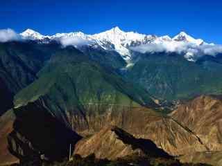 中国最美山峰之小清新梅里雪山壁纸