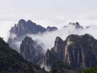 中国最美山峰之秀美的黄山