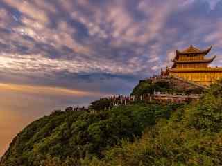 中国最美山峰之峨眉山美景壁纸