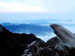 中国最美山峰之泰山桌面壁纸