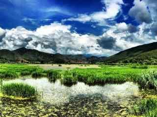 清新美丽的泸沽湖