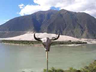 雅鲁藏布江自然风光壁纸