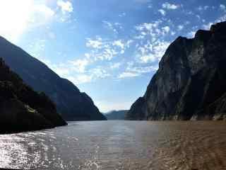 长江自然风景高清壁纸