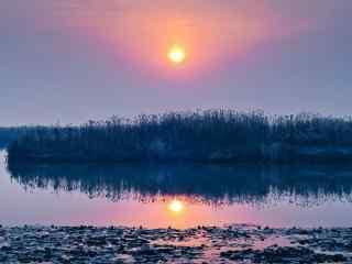 巢湖风景之唯美日落