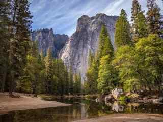 唯美的山水间风景