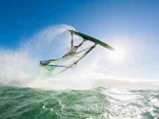 夏威夷之夏日冲浪风景壁纸