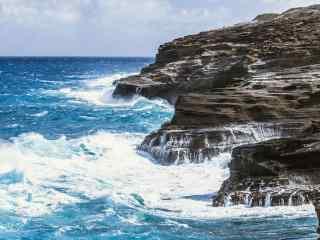 夏威夷清新自然海边风景壁纸
