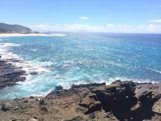 夏威夷唯美大海风景壁纸