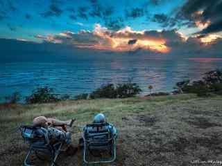 夏威夷惬意的午后风光壁纸