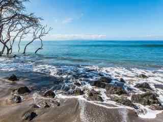 夏威夷海边高清风景壁纸