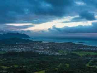 唯美大气的夏威夷风景桌面壁纸