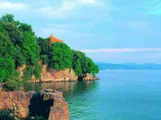 小清新苏州太湖风景壁纸