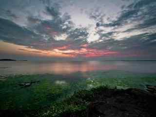 苏州太湖唯美日出