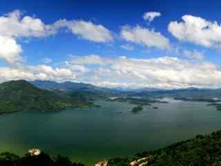 小清新太湖风景图片壁纸