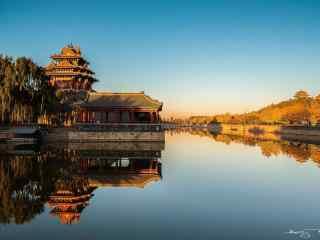 北京故宫角楼桌面壁纸
