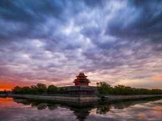 北京故宫角楼风景壁纸