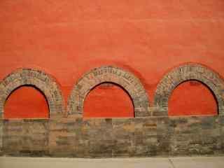 北京故宫的红墙图片壁纸