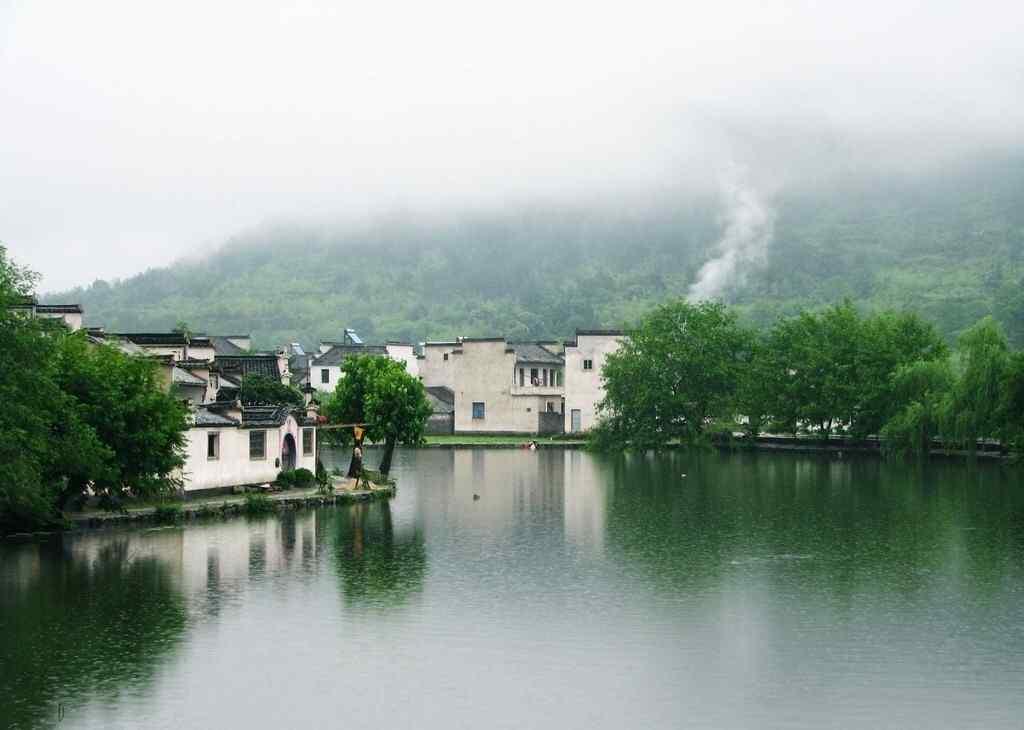 烟雨江南风景图片壁纸