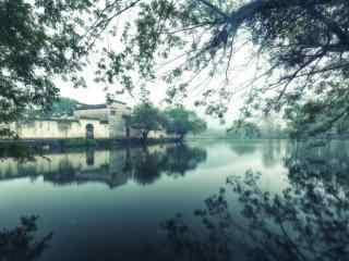 烟雨江南唯美周庄风景图片