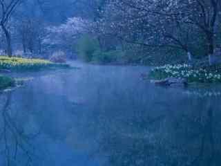 美丽的烟雨江南风景壁纸