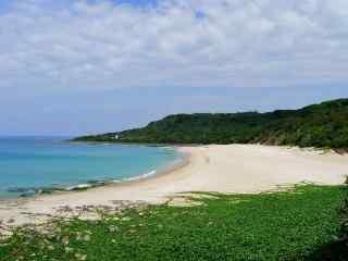唯美的垦丁海边风景图片壁纸