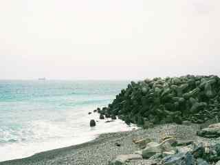 台湾垦丁海边清新风景壁纸