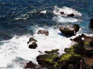 垦丁壮阔的大海风景壁纸