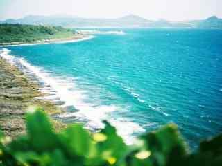台湾垦丁海边清新桌面壁纸