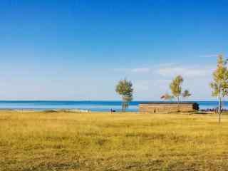 唯美的青海湖风景桌面壁纸