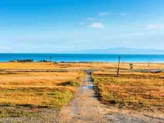 青海湖风景高清桌