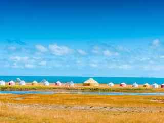 青海湖风景高清图片壁纸