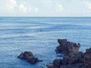 美丽的台湾垦丁海边风景壁纸