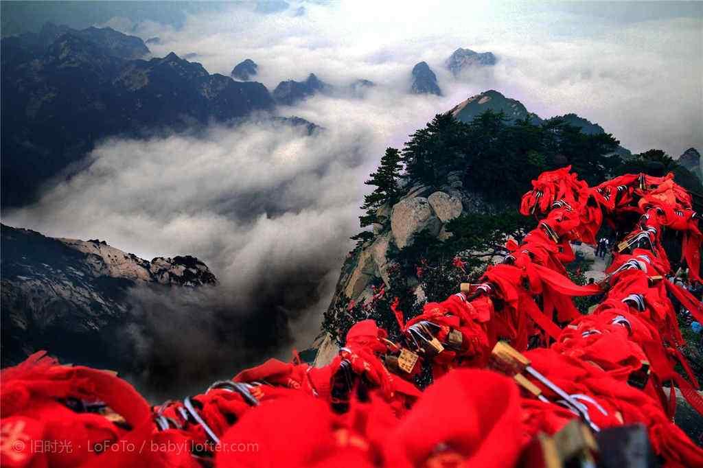 华山唯美好看的风景壁纸