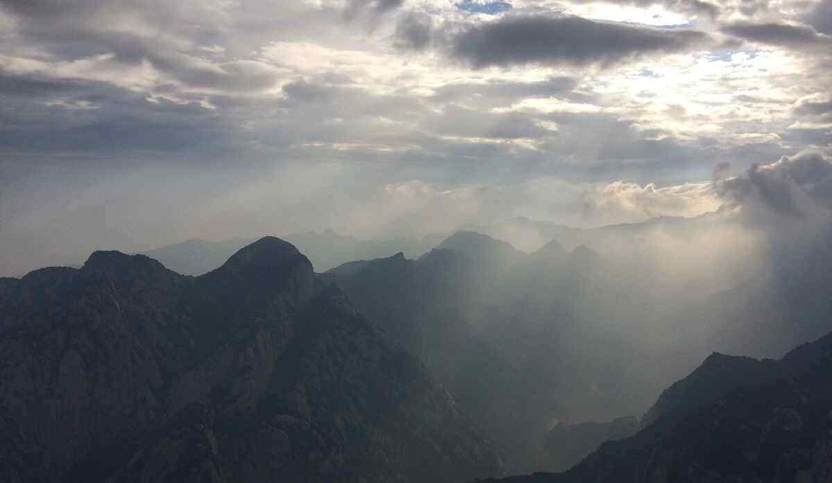 华山唯美风景桌面壁纸