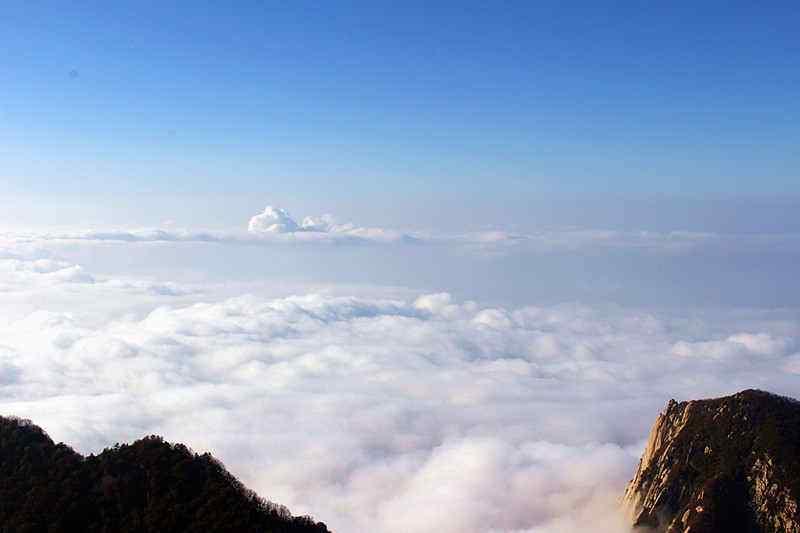 华山壮丽风景壁纸